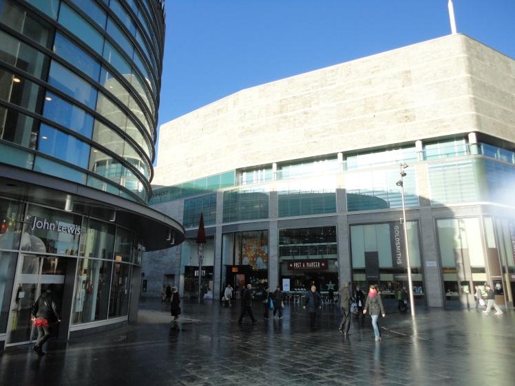 Liverpool One: uma pequena parada para as compras...